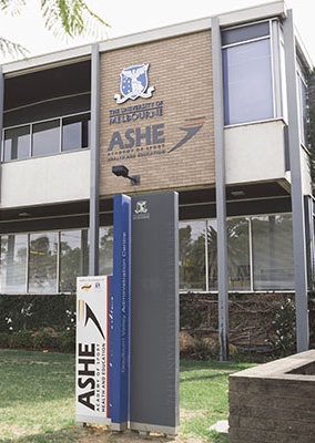 The ASHE building